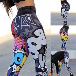 "Pants - Women""s Fashion 3D Printed Yoga Pants Leggings"
